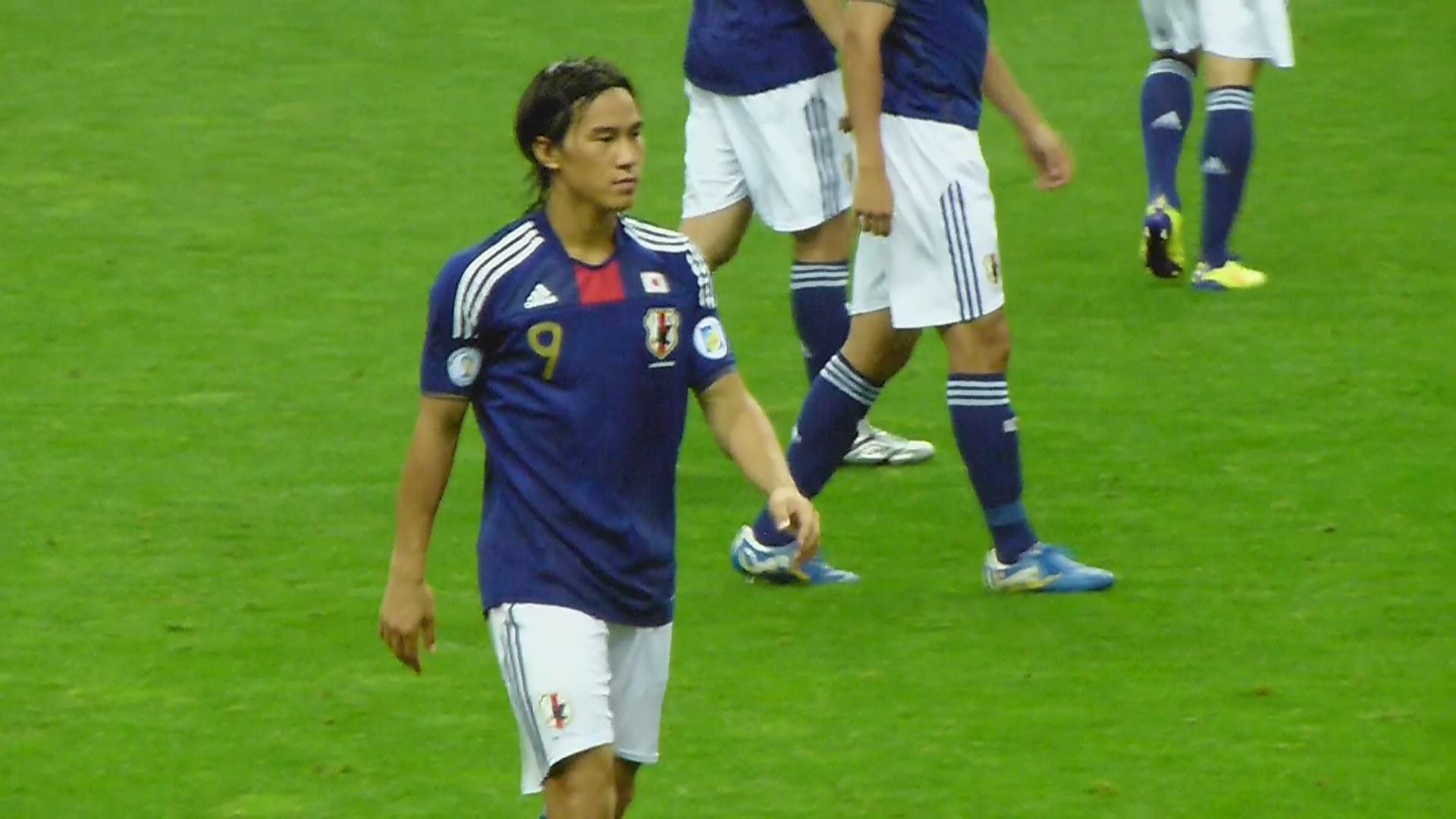 岡崎慎司 画像 サッカー日本代表 画像